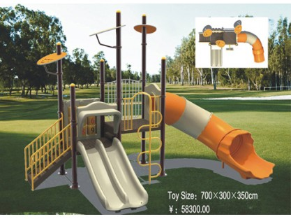 commercial swing and slide