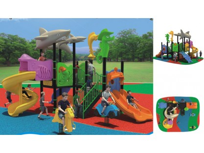 Ocean Theme childrens playground equipment