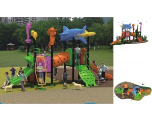Ocean Theme commercial playground equipment