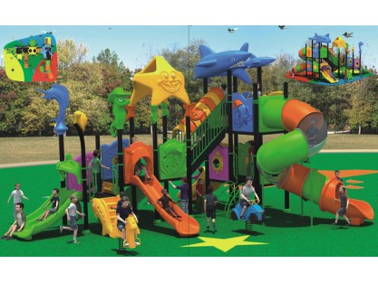 Ocean Theme preschool playground equipment