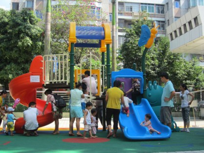 plastic playground design
