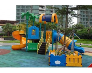 Small Size kids outdoor play