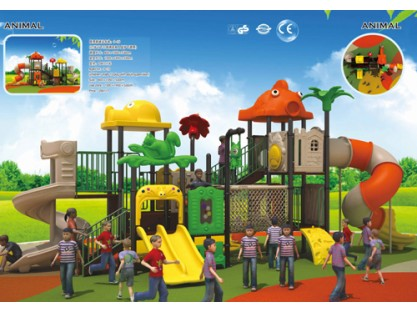 commercial playground equipment factory