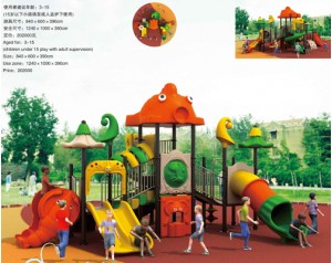 plastic playground equipment factory