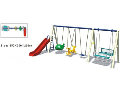 Park Swing And Slide