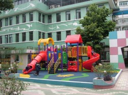 cheap plastic playground equipment