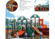 Get basic free play from plastic playground equipment