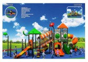 Let Your Child Have Fun With Plastic Playground Equipment