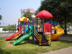 plastic backyard playground equipment for sale