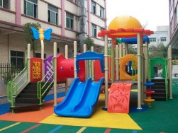 plastic commercial playground equipment