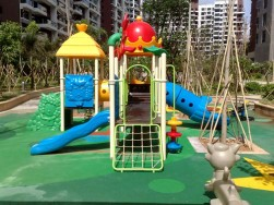 plastic commercial playground for sale