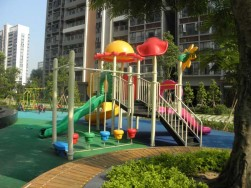 plastic outdoor playground equipment for sale