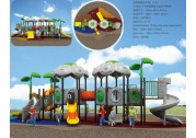 The advantages of plastic playground equipment - rubber flooring