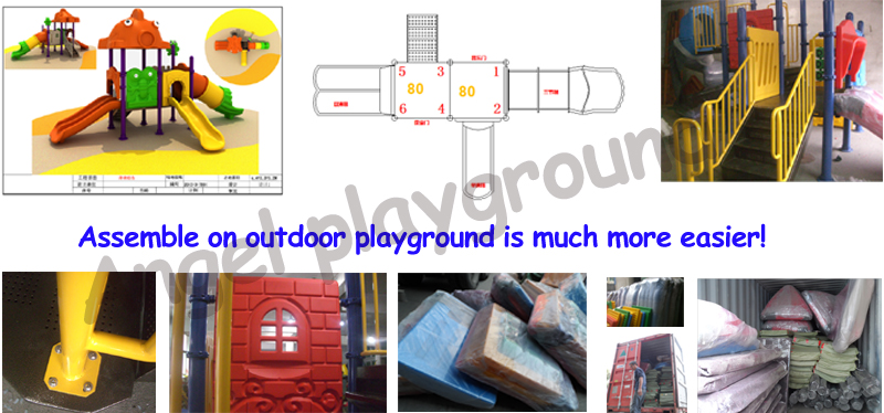 assemble on outdoor playground equipment