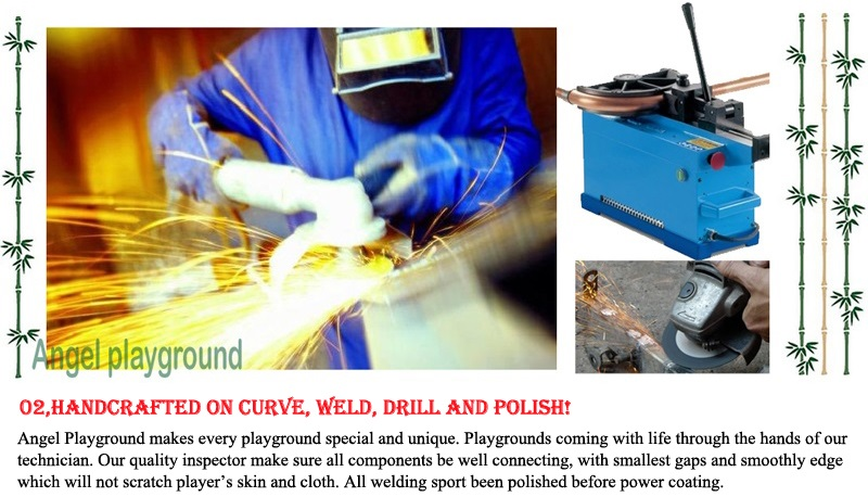 welding for outdoor playsets