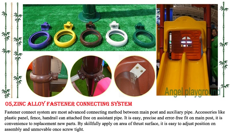 fastener for outdoor playsets