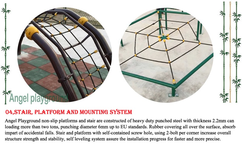 outdoor playground equipment - material and quality 9-4