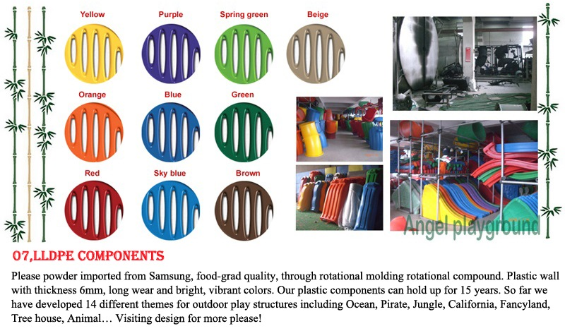 outdoor playground equipment - material and quality 9-7