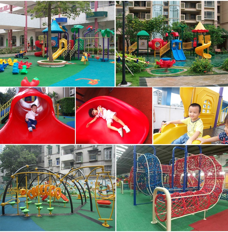 kids outdoors playground