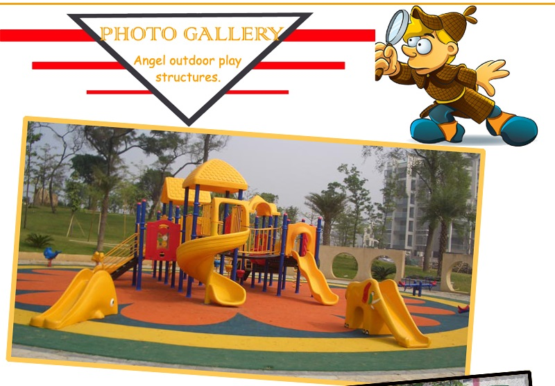 Children playground manufacture