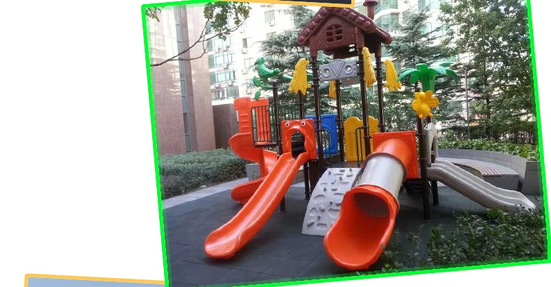 Kid playground manufacture