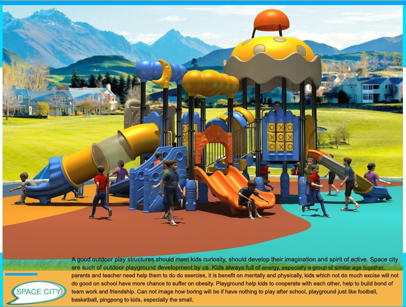 Commercial playground company