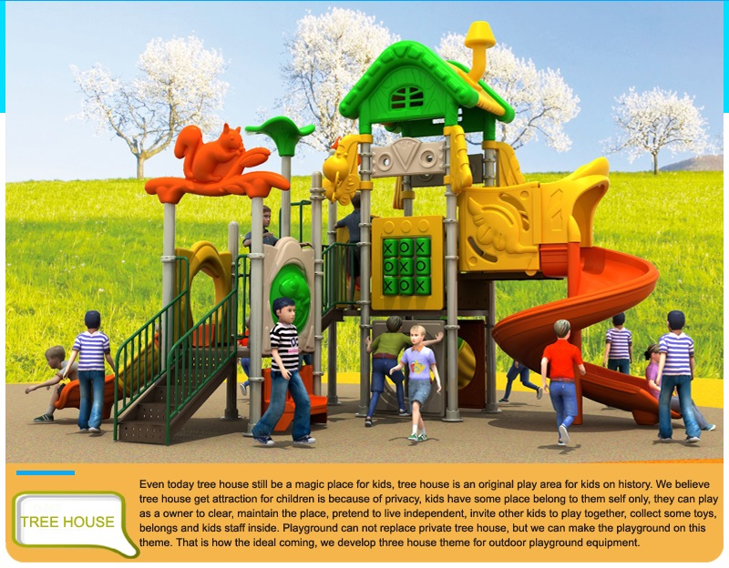 New outdoor playground
