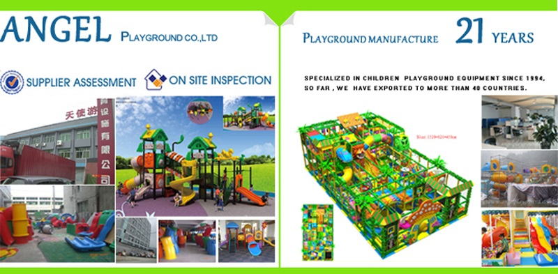 Outdoor playground supplier