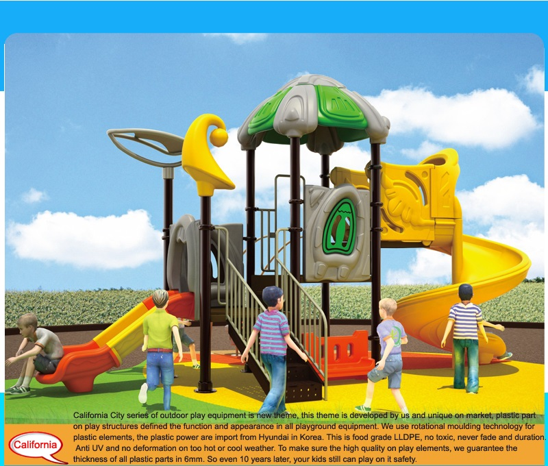 plastic outdoor playgrounds
