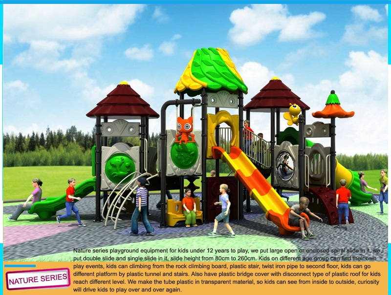 Outdoor playground company