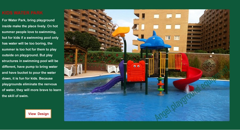 Park playground supplier