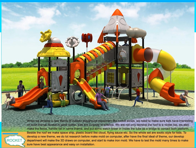 outdoor play structures