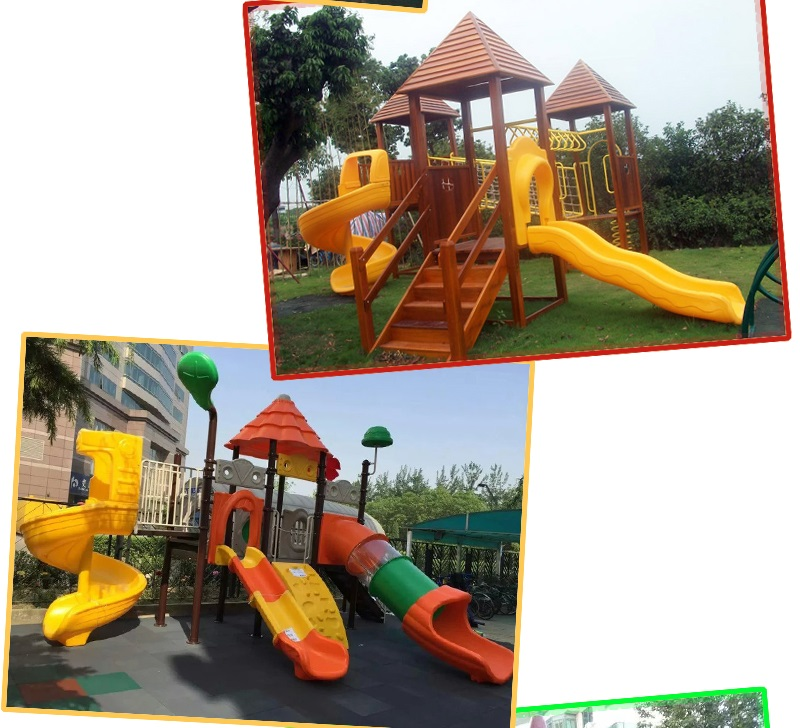 Plastic playground supplier