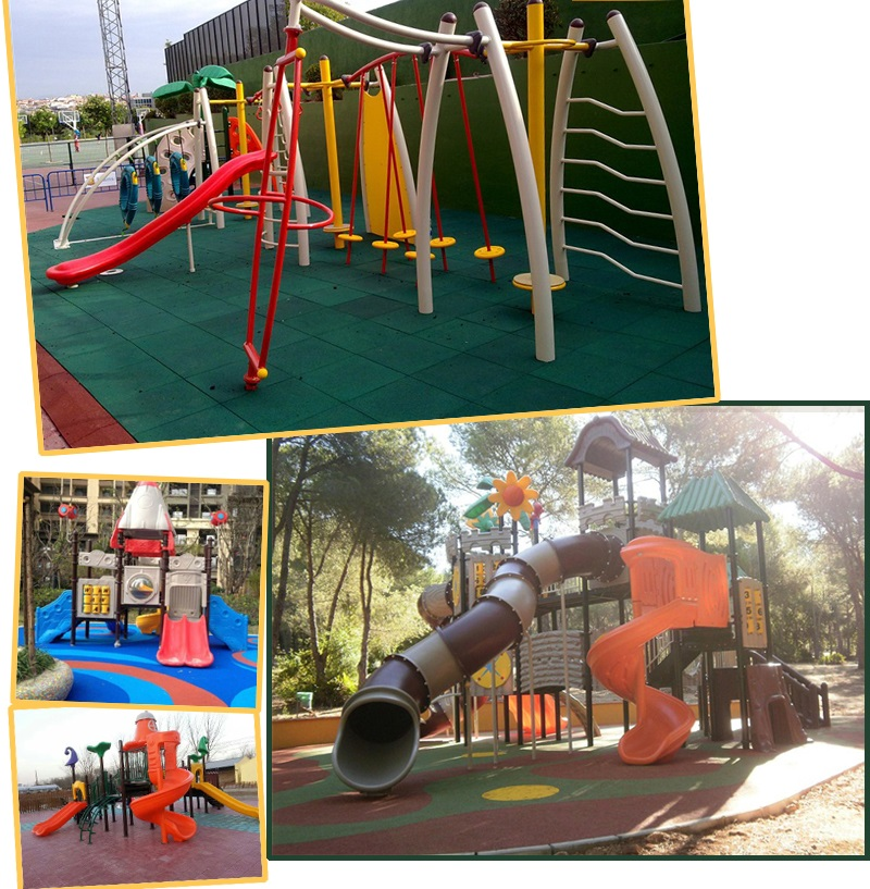 big outdoor playground