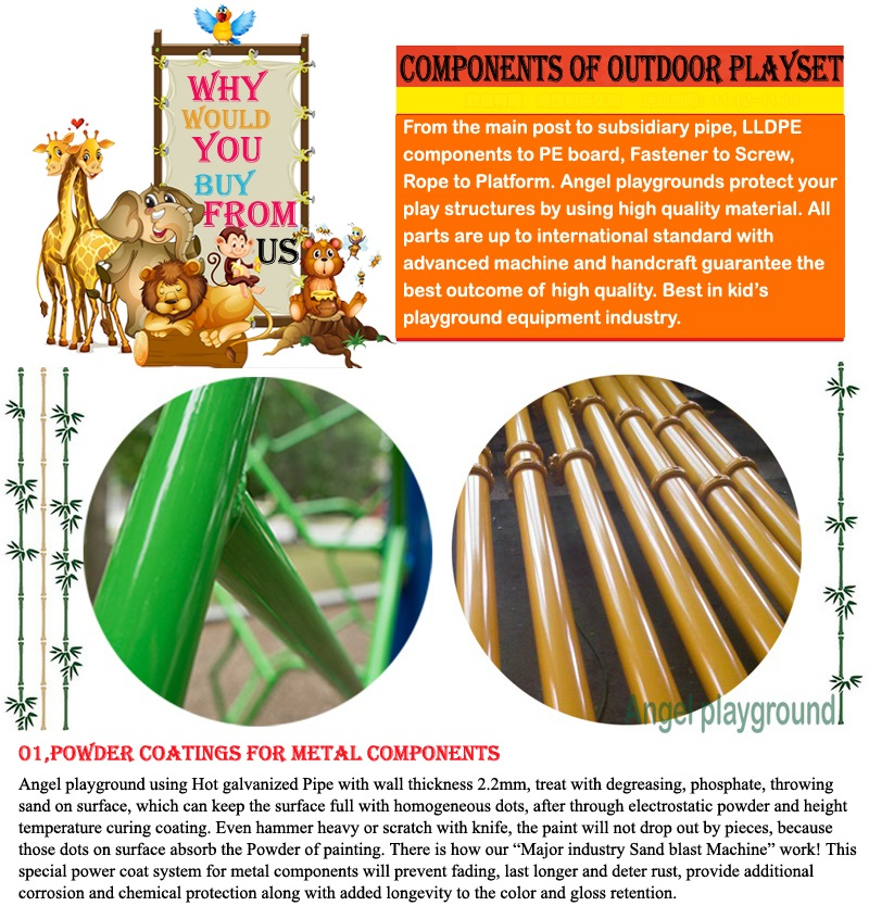 Quality of outdoor playground equipment 9-1