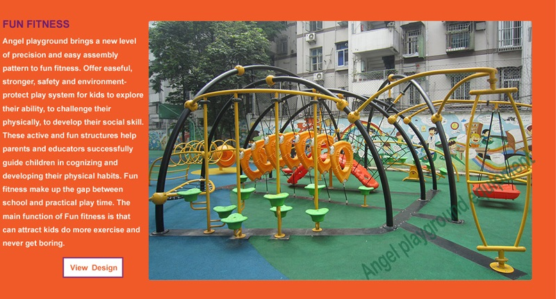 kidz Playgrounds factory