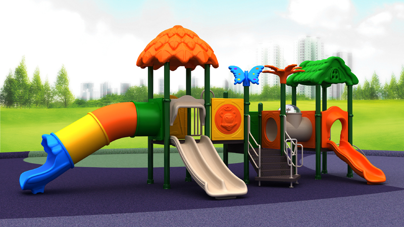 Plastic playground equipment 1