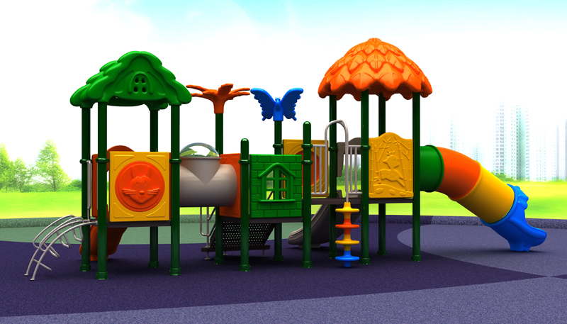 Plastic playground equipment 2